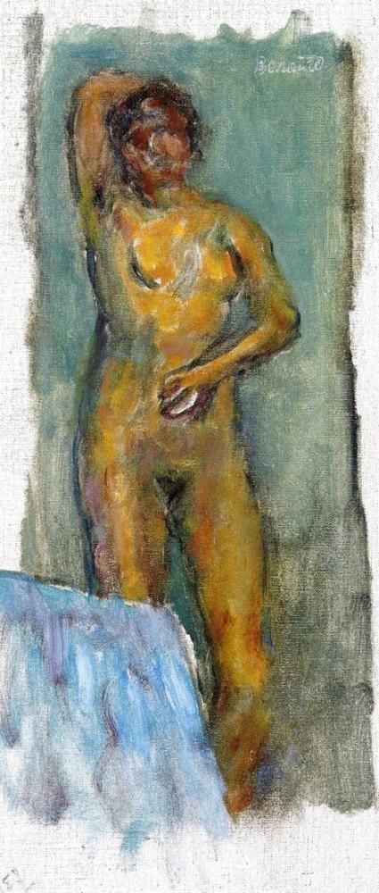 Pierre Bonnard Standing Nude, Canvas, Pierre Bonnard, kanvas tablo, canvas print sales
