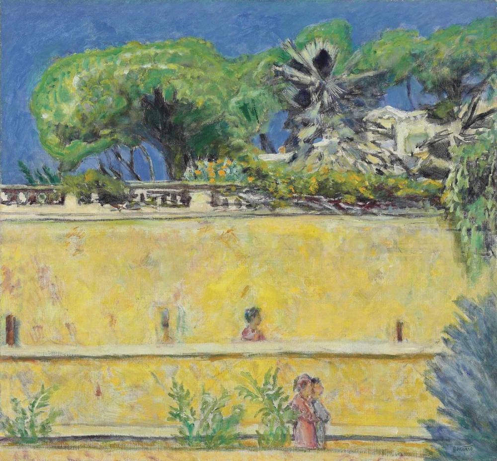 Pierre Bonnard Terrasse Dans Le Midi, Canvas, Pierre Bonnard, kanvas tablo, canvas print sales