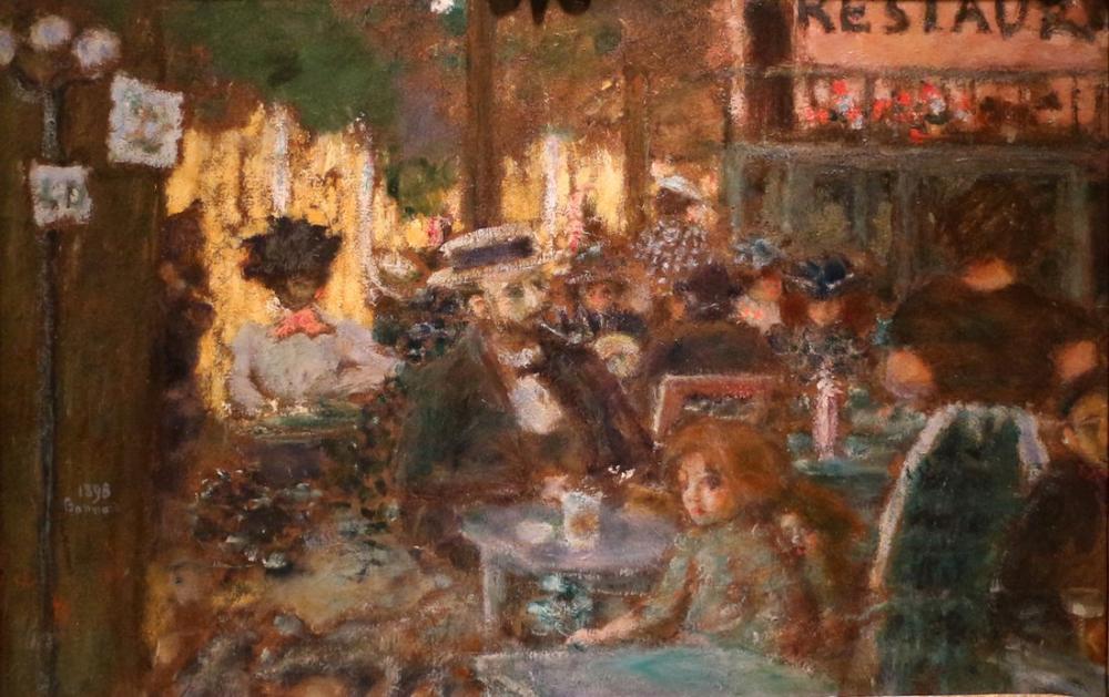 Pierre Bonnard Terrazza Caffe, Canvas, Pierre Bonnard, kanvas tablo, canvas print sales