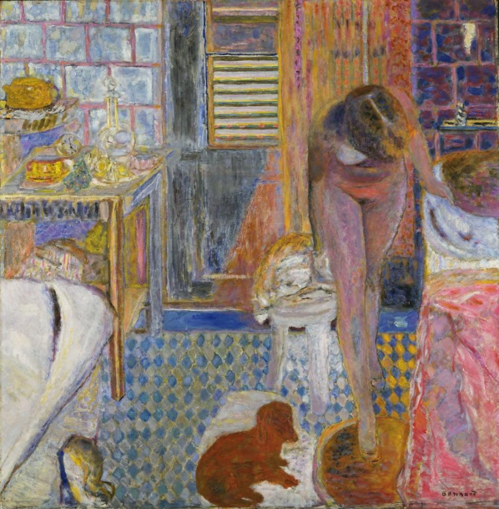 Pierre Bonnard Banyo, Kanvas Tablo, Pierre Bonnard, kanvas tablo, canvas print sales