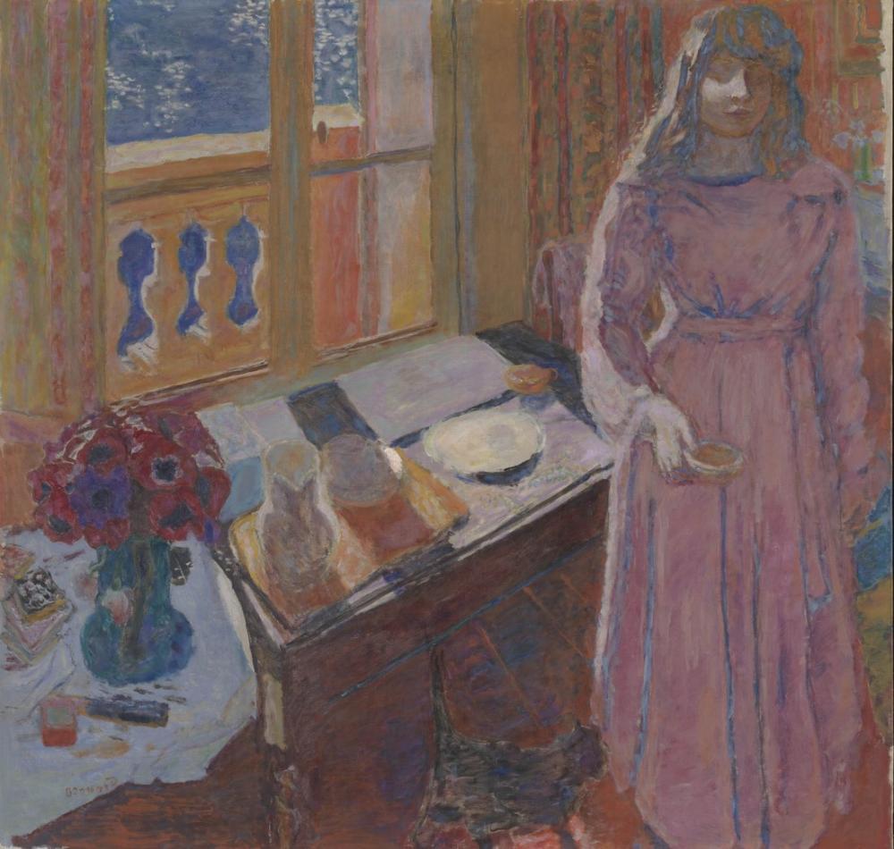 Pierre Bonnard The Bowl Of Milk, Canvas, Pierre Bonnard, kanvas tablo, canvas print sales