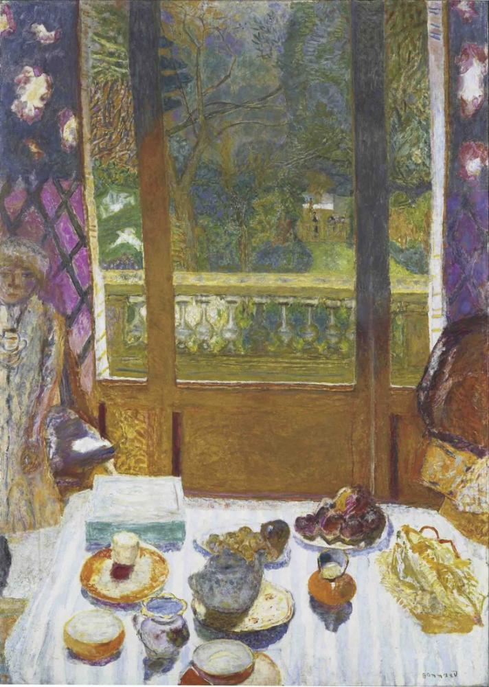 Pierre Bonnard The Breakfast Room, Canvas, Pierre Bonnard, kanvas tablo, canvas print sales
