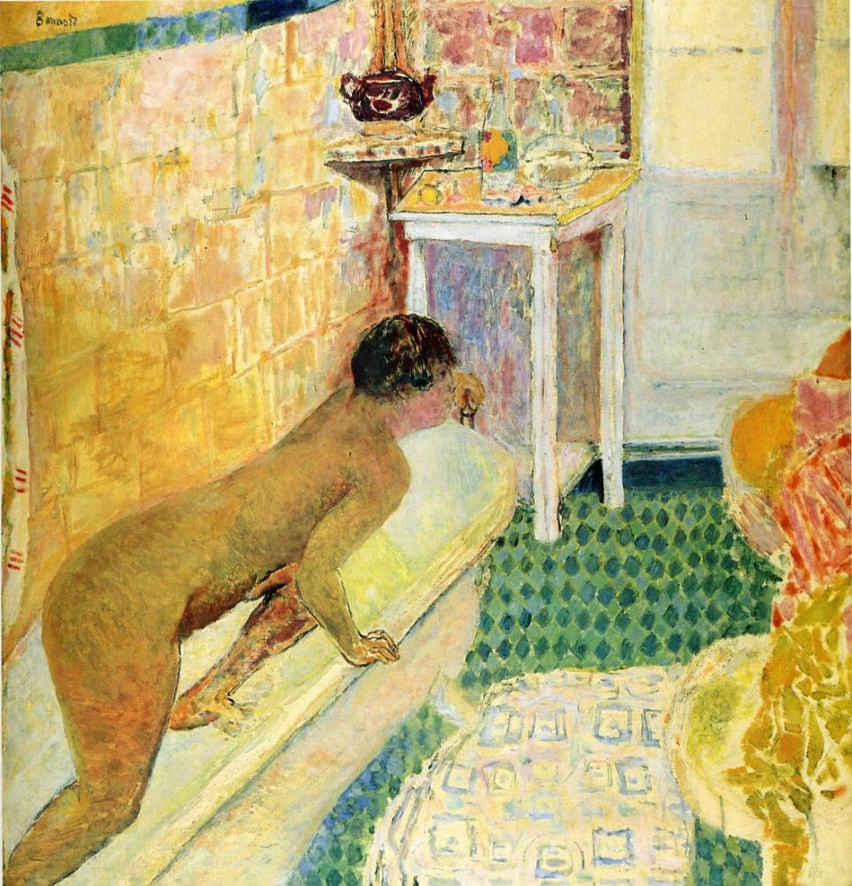 Pierre Bonnard The Exit Of The Bath, Canvas, Pierre Bonnard, kanvas tablo, canvas print sales