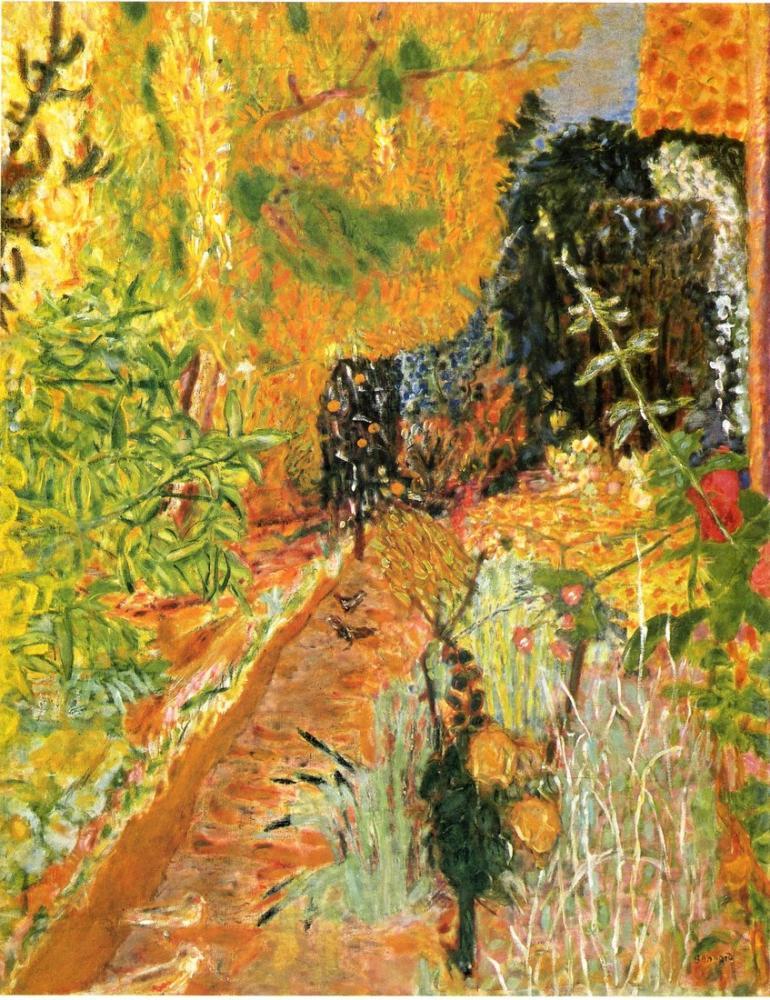 Pierre Bonnard The Garden, Canvas, Pierre Bonnard, kanvas tablo, canvas print sales