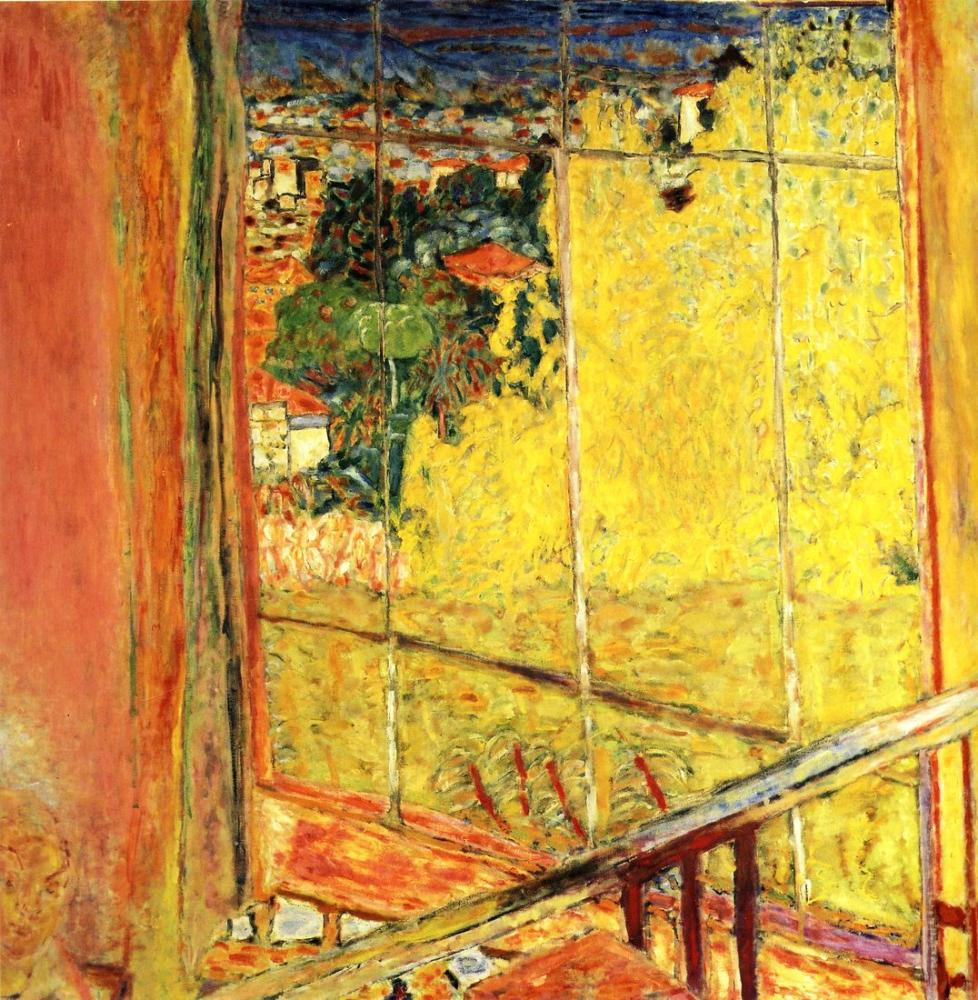 Pierre Bonnard The Workshop With Mimosa, Canvas, Pierre Bonnard, kanvas tablo, canvas print sales