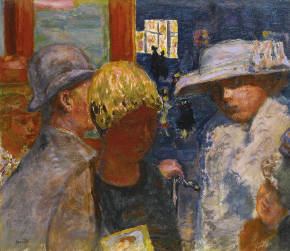Pierre Bonnard Beş Karakter, Kanvas Tablo, Pierre Bonnard, kanvas tablo, canvas print sales