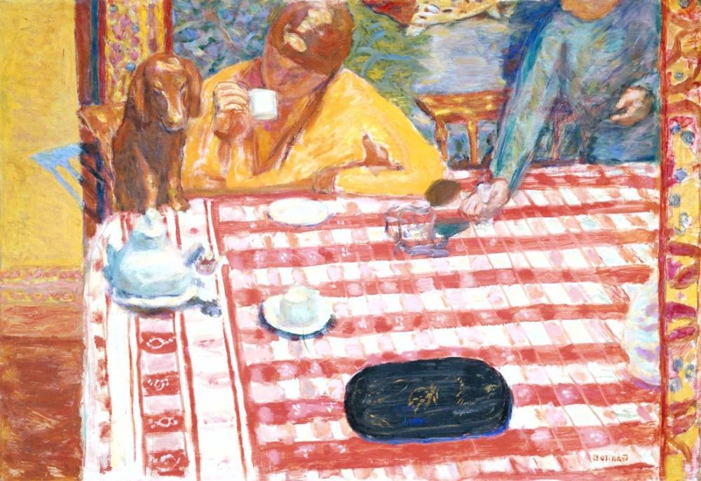 Pierre Bonnard Coffee, Canvas, Pierre Bonnard, kanvas tablo, canvas print sales