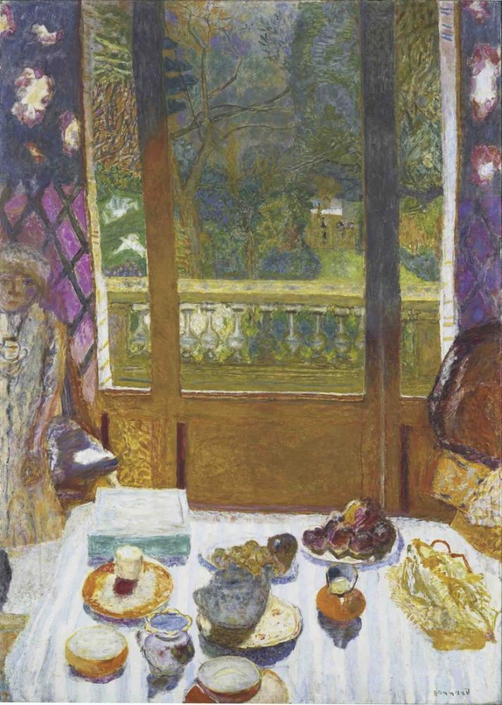 Pierre Bonnard Yemek Odası Bahçesi, Kanvas Tablo, Pierre Bonnard, kanvas tablo, canvas print sales