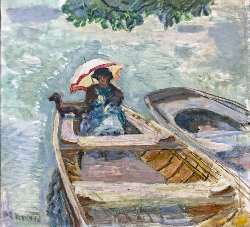 Pierre Bonnard En Bateau, Canvas, Pierre Bonnard, kanvas tablo, canvas print sales