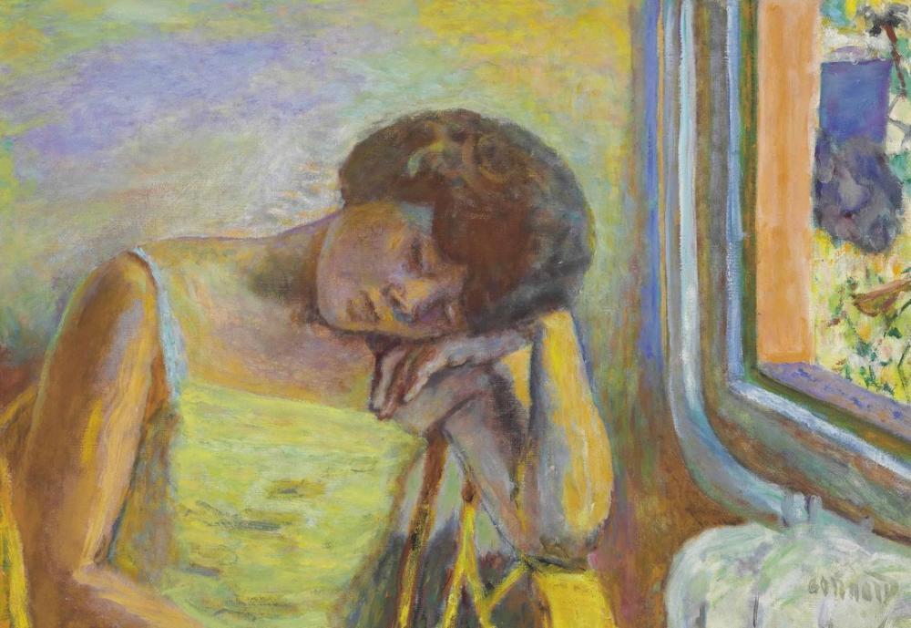 Pierre Bonnard Uyuyan Kadın, Kanvas Tablo, Pierre Bonnard, kanvas tablo, canvas print sales