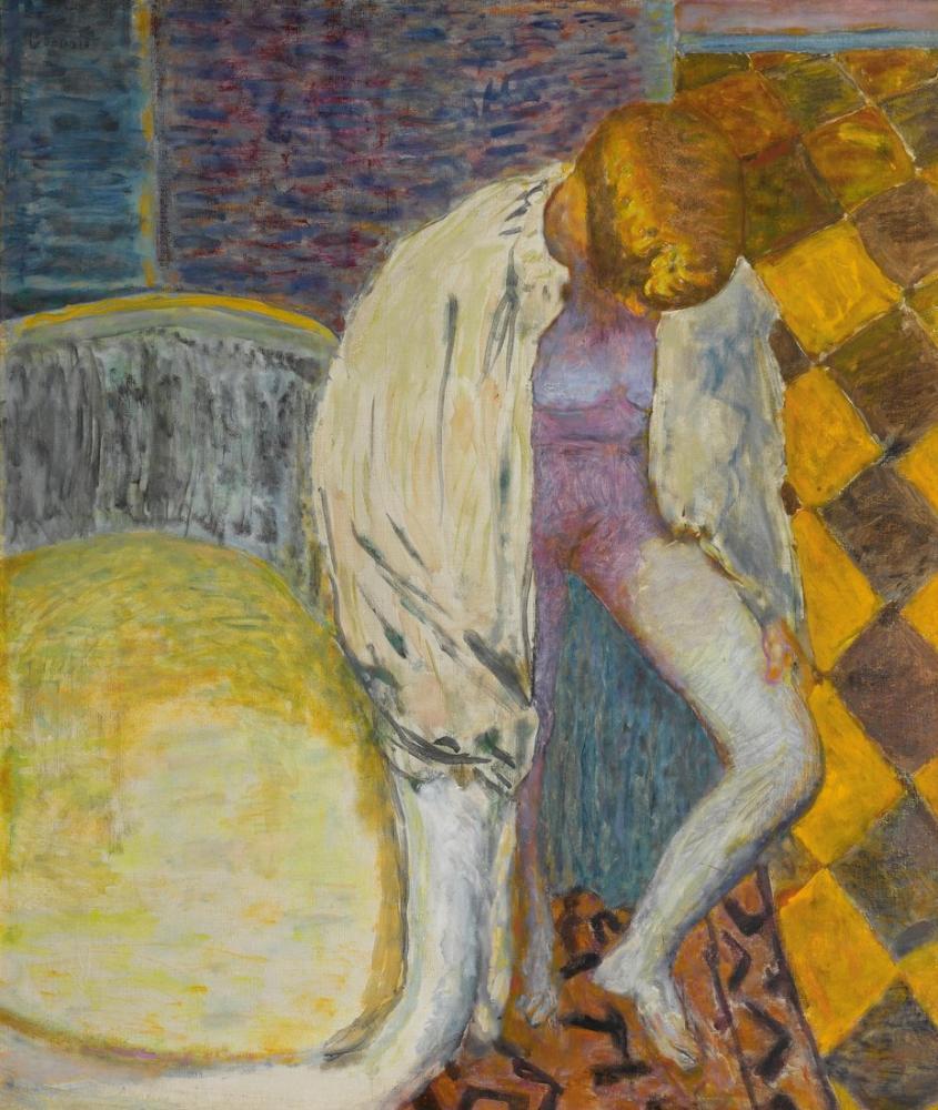 Pierre Bonnard Femme Sortant Du Bain, Canvas, Pierre Bonnard, kanvas tablo, canvas print sales
