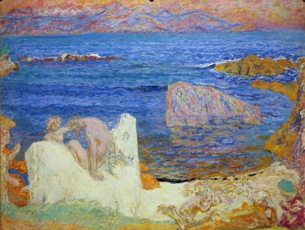 Pierre Bonnard Avrupa Tecavüzü, Kanvas Tablo, Pierre Bonnard, kanvas tablo, canvas print sales