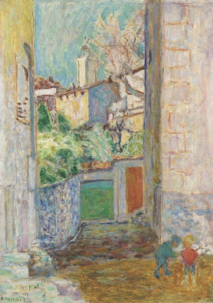 Pierre Bonnard Impasse Ou La Ruelle, Canvas, Pierre Bonnard, kanvas tablo, canvas print sales