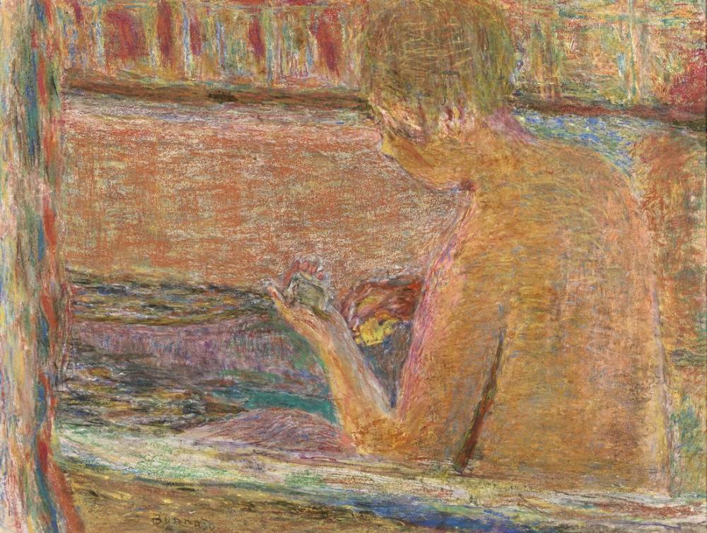 Pierre Bonnard Banyoda, Kanvas Tablo, Pierre Bonnard, kanvas tablo, canvas print sales