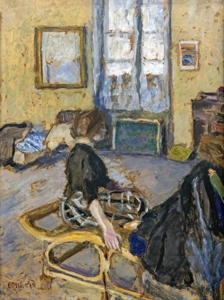 Pierre Bonnard Interieur, Canvas, Pierre Bonnard, kanvas tablo, canvas print sales