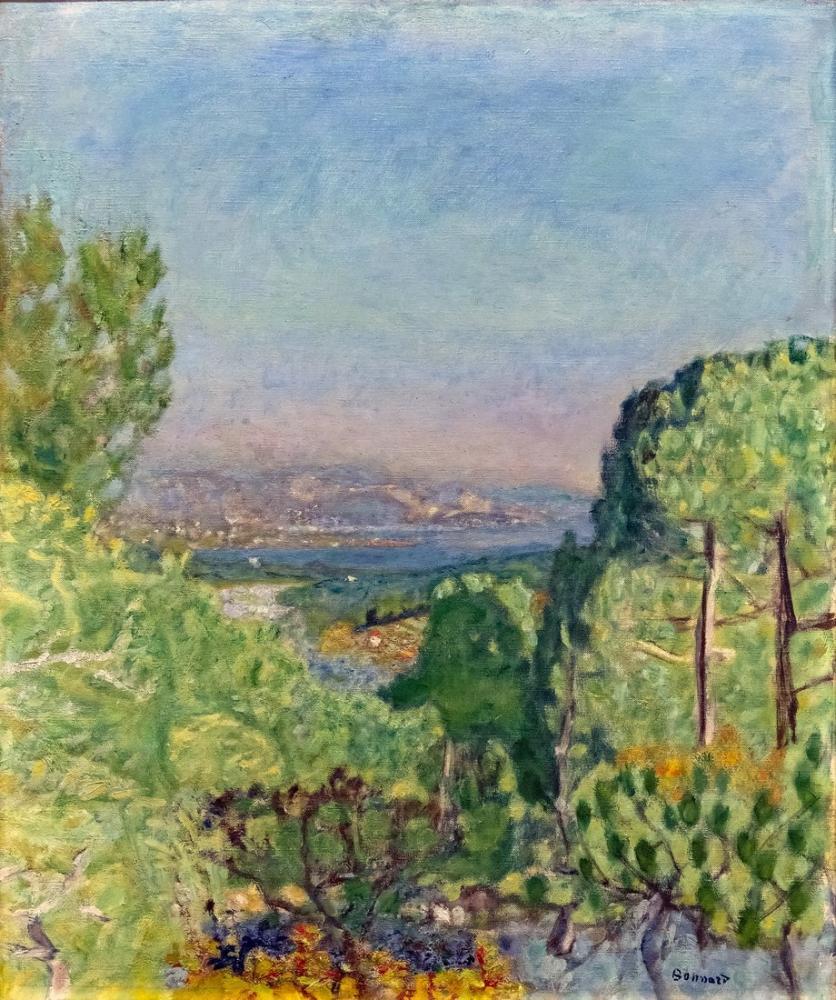 Pierre Bonnard The Pine Forest, Canvas, Pierre Bonnard, kanvas tablo, canvas print sales