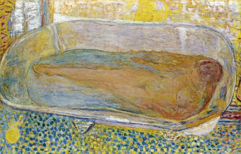 Pierre Bonnard Büyük Hamam, Kanvas Tablo, Pierre Bonnard, kanvas tablo, canvas print sales