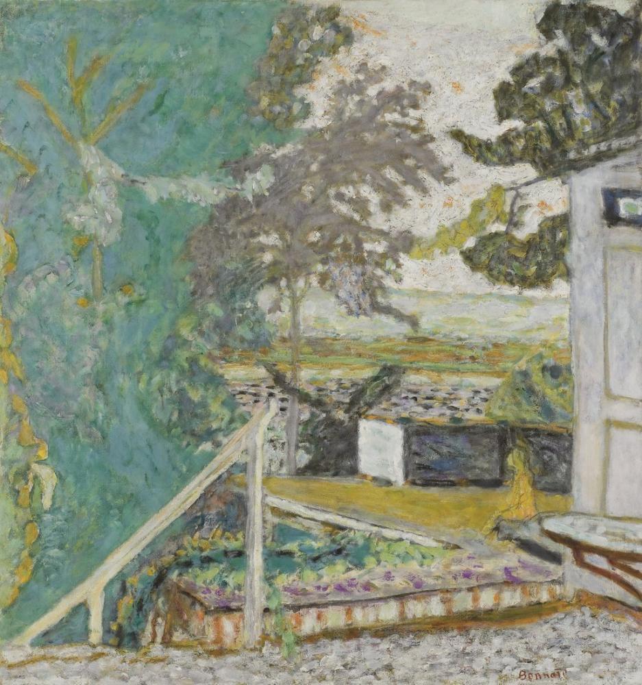 Pierre Bonnard La Terrasse Sur La Seine Vernon, Canvas, Pierre Bonnard, kanvas tablo, canvas print sales