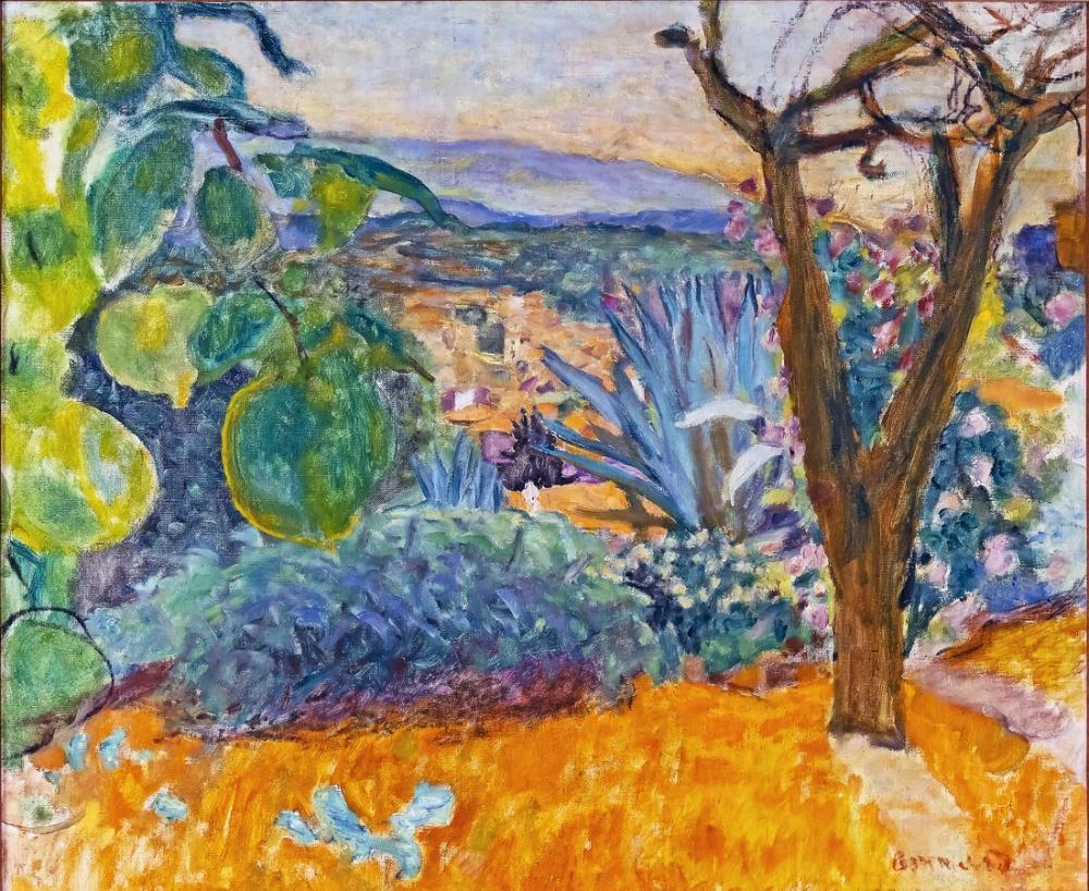Pierre Bonnard Le Cannet II, Canvas, Pierre Bonnard, kanvas tablo, canvas print sales