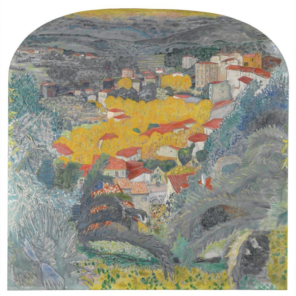 Pierre Bonnard Le Cannet 1927, Kanvas Tablo, Pierre Bonnard, kanvas tablo, canvas print sales