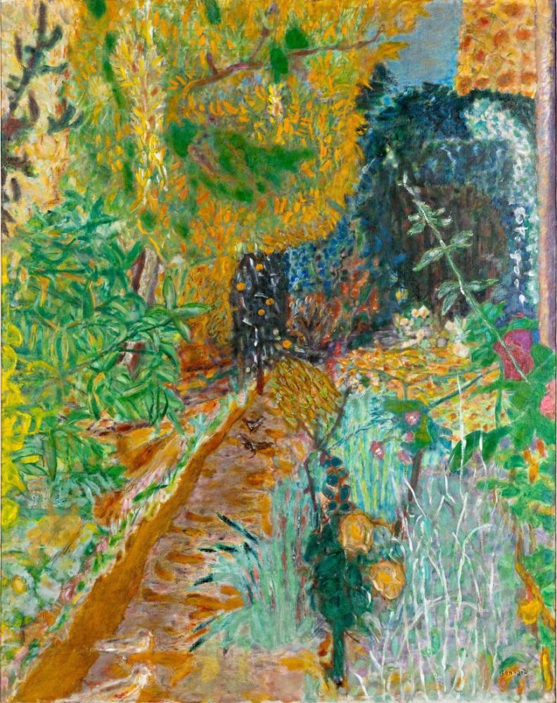 Pierre Bonnard Bahçe, Kanvas Tablo, Pierre Bonnard, kanvas tablo, canvas print sales
