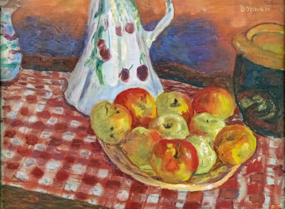 Pierre Bonnard Les Pommes Rouges Et Jaunes, Canvas, Pierre Bonnard, kanvas tablo, canvas print sales