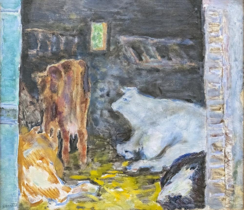 Pierre Bonnard Kararlı, Kanvas Tablo, Pierre Bonnard, kanvas tablo, canvas print sales