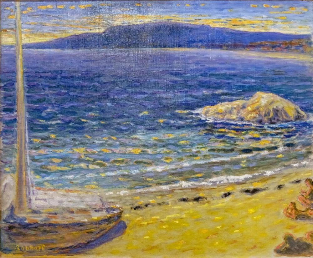 Pierre Bonnard Marine, Canvas, Pierre Bonnard, kanvas tablo, canvas print sales