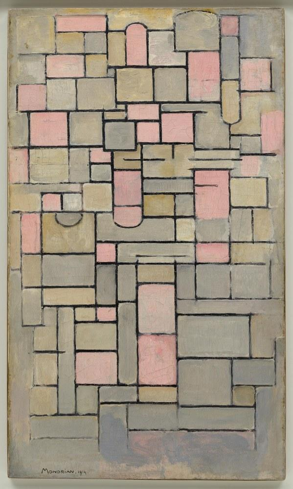 Kompozisyon 8, Piet Mondrian, Kanvas Tablo, Piet Mondrian, kanvas tablo, canvas print sales