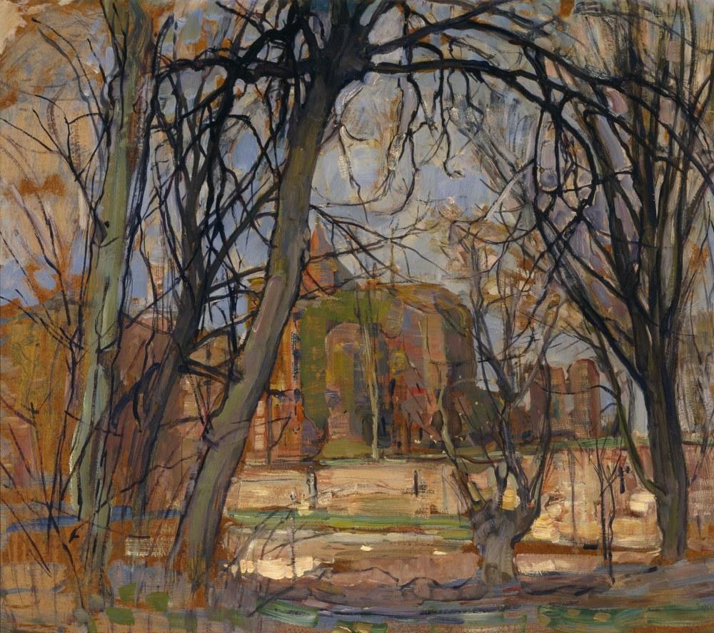 Castle, Piet Mondrian, Canvas, Piet Mondrian, kanvas tablo, canvas print sales