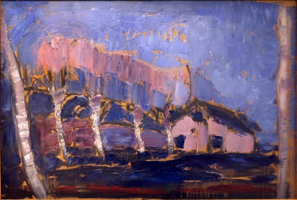 Evening Landscape, Piet Mondrian, Canvas, Piet Mondrian, kanvas tablo, canvas print sales