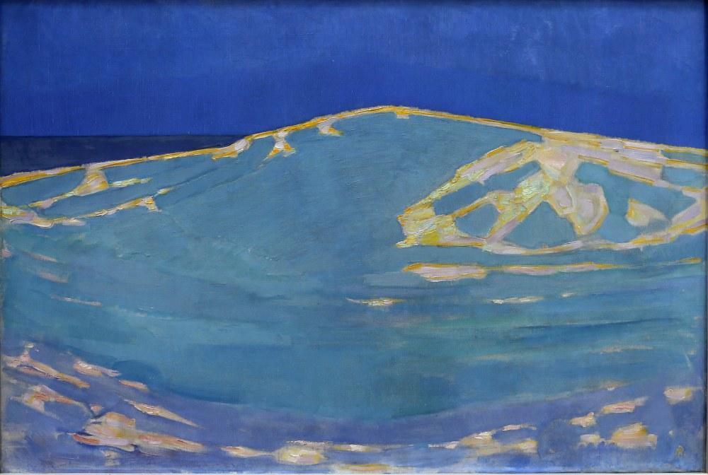 Summer Dune in Domburg, Piet Mondrian, Canvas, Piet Mondrian, kanvas tablo, canvas print sales