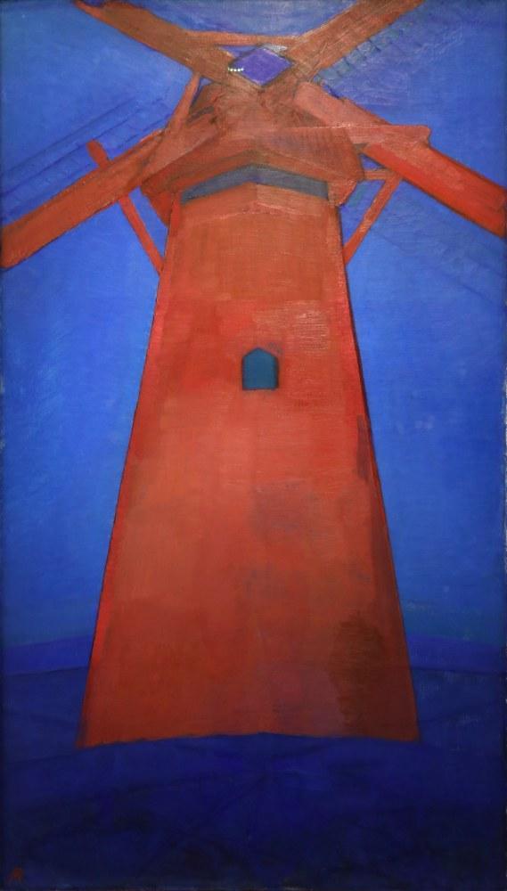 Red Mill, Piet Mondrian, Canvas, Piet Mondrian, kanvas tablo, canvas print sales