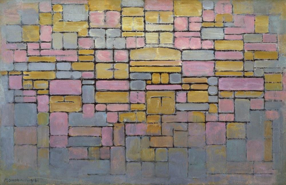 Tableau No 2 Kompozsiyon No 5, Piet Mondrian, Kanvas Tablo, Piet Mondrian, kanvas tablo, canvas print sales