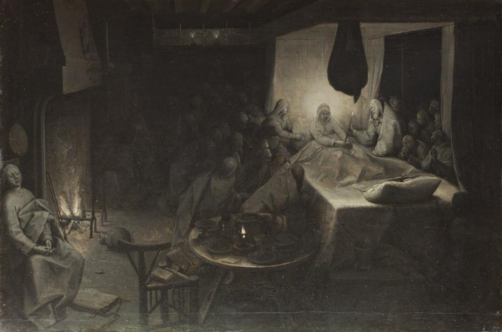 Pieter Bruegel Death Of The Virgin, Canvas, Pieter Bruegel, kanvas tablo, canvas print sales