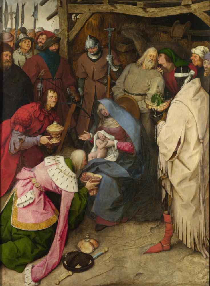 Pieter Bruegel The Adoration Of The Kings, Canvas, Pieter Bruegel, kanvas tablo, canvas print sales