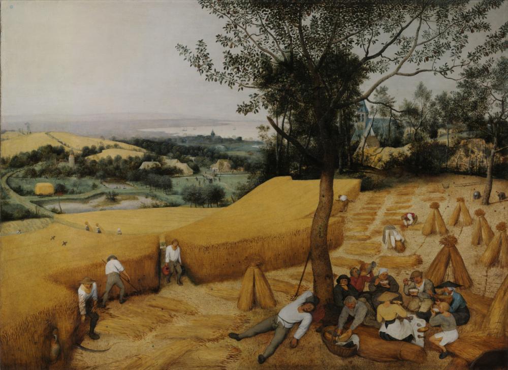Pieter Bruegel, Hasat Zamanı, Kanvas Tablo, Pieter Bruegel, kanvas tablo, canvas print sales