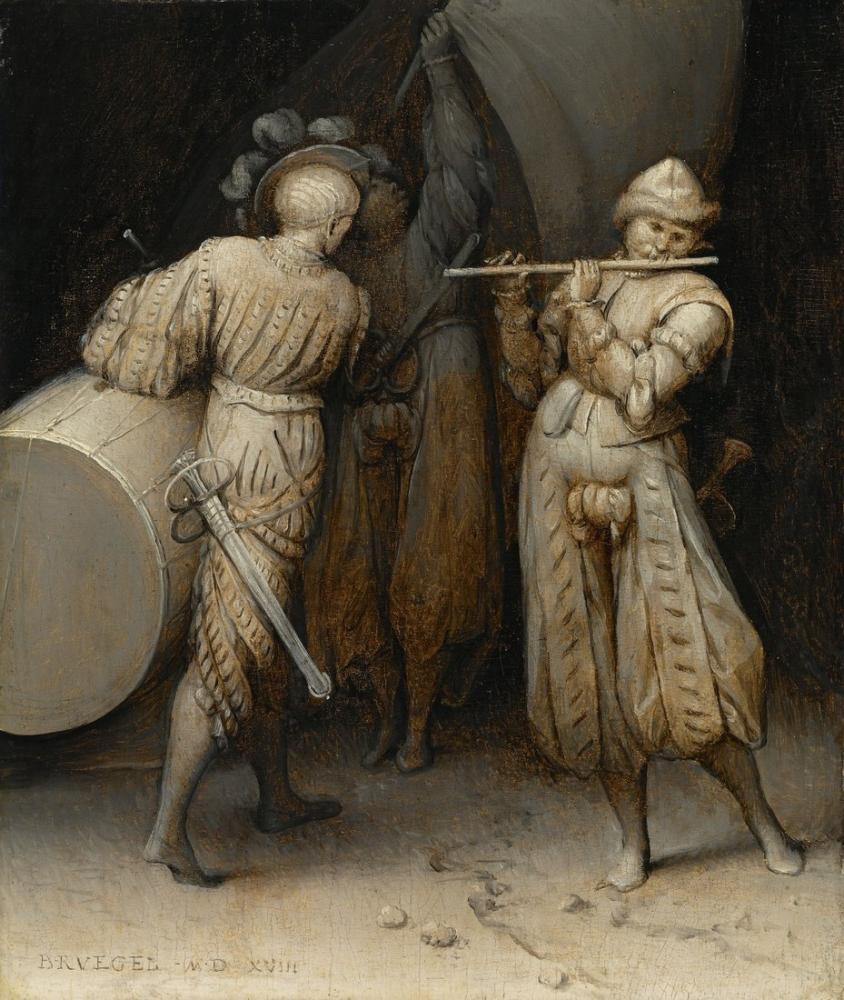 Pieter Bruegel Üç Asker, Kanvas Tablo, Pieter Bruegel, kanvas tablo, canvas print sales