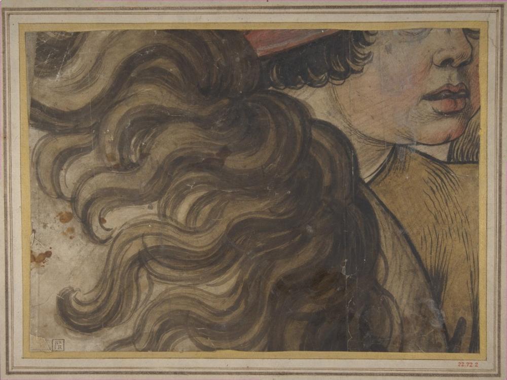 Raphael Bir Çocuğun Başı ve Bir Atın Yelesİ, Kanvas Tablo, Raphael, kanvas tablo, canvas print sales