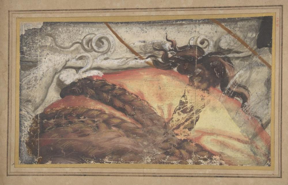 Raphael Saçlı Kadının Kafasının Üstü Bir Kumaş Başlık Üzerine Örgülü, Kanvas Tablo, Raphael, kanvas tablo, canvas print sales