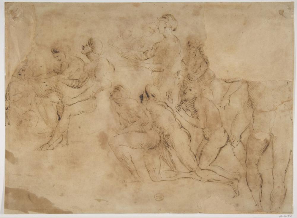 Raphael Figür Çalışmaları, Figür, Raphael, kanvas tablo, canvas print sales