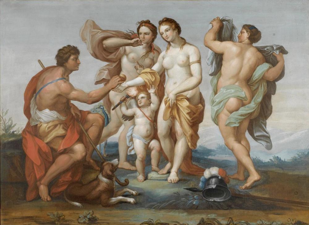 Raphael Paris Yargısı Yolunda, Kanvas Tablo, Raphael, kanvas tablo, canvas print sales