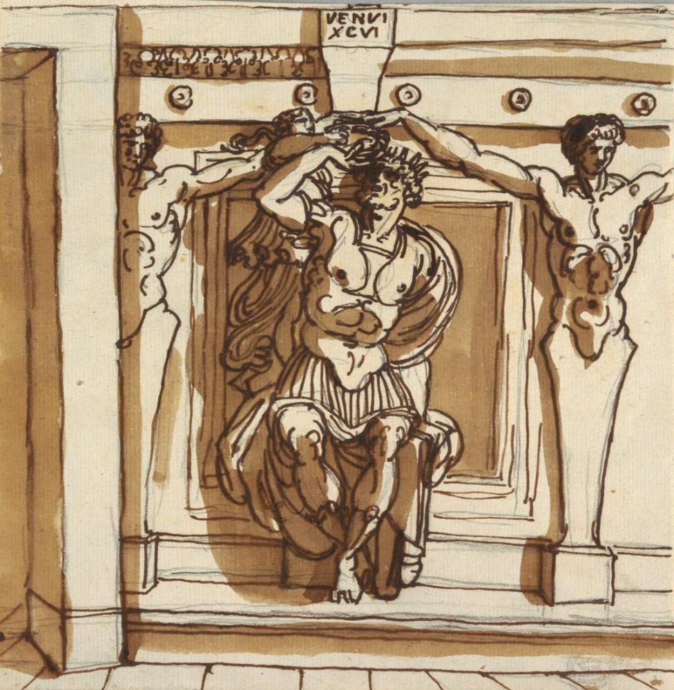 Raphael Çizim Godfrey De Bouillon, Kanvas Tablo, Raphael, kanvas tablo, canvas print sales