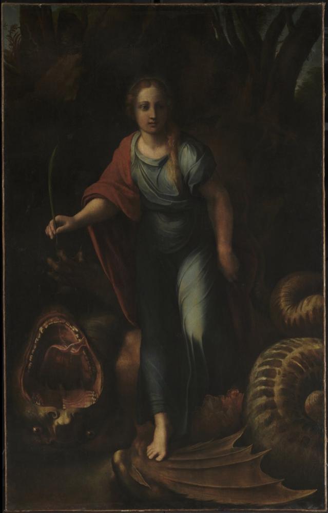 Raphael Sainte Marguerite, Kanvas Tablo, Raphael, kanvas tablo, canvas print sales