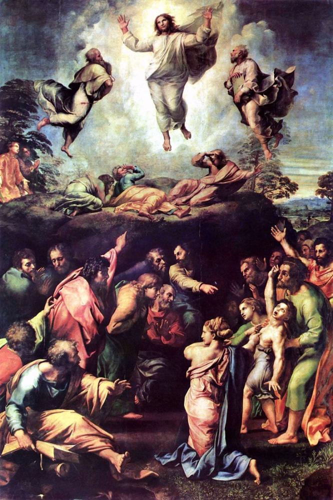 Raphael The Transfiguration, Canvas, Raphael, kanvas tablo, canvas print sales