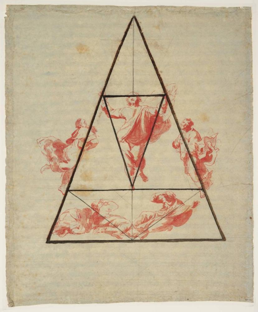 Raphae Başkalaşımın Bölümünün Oranı Ve Tasarımı, Kanvas Tablo, Raphael, kanvas tablo, canvas print sales