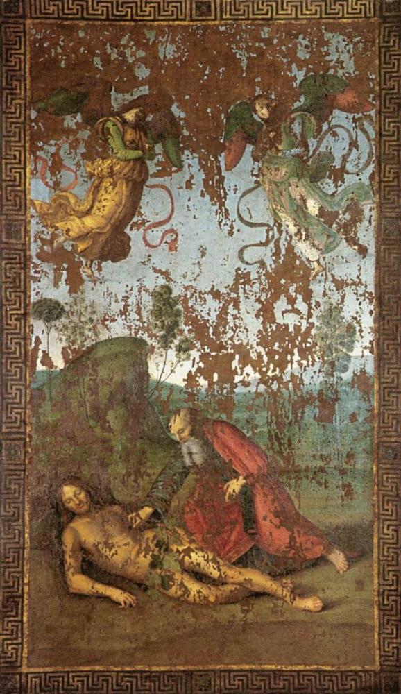 Raphael Adem ile Havva Yaratılışı, Kanvas Tablo, Raphael, kanvas tablo, canvas print sales