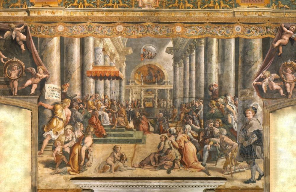 Raphael Konstantin Bağışı, Kanvas Tablo, Raphael, kanvas tablo, canvas print sales