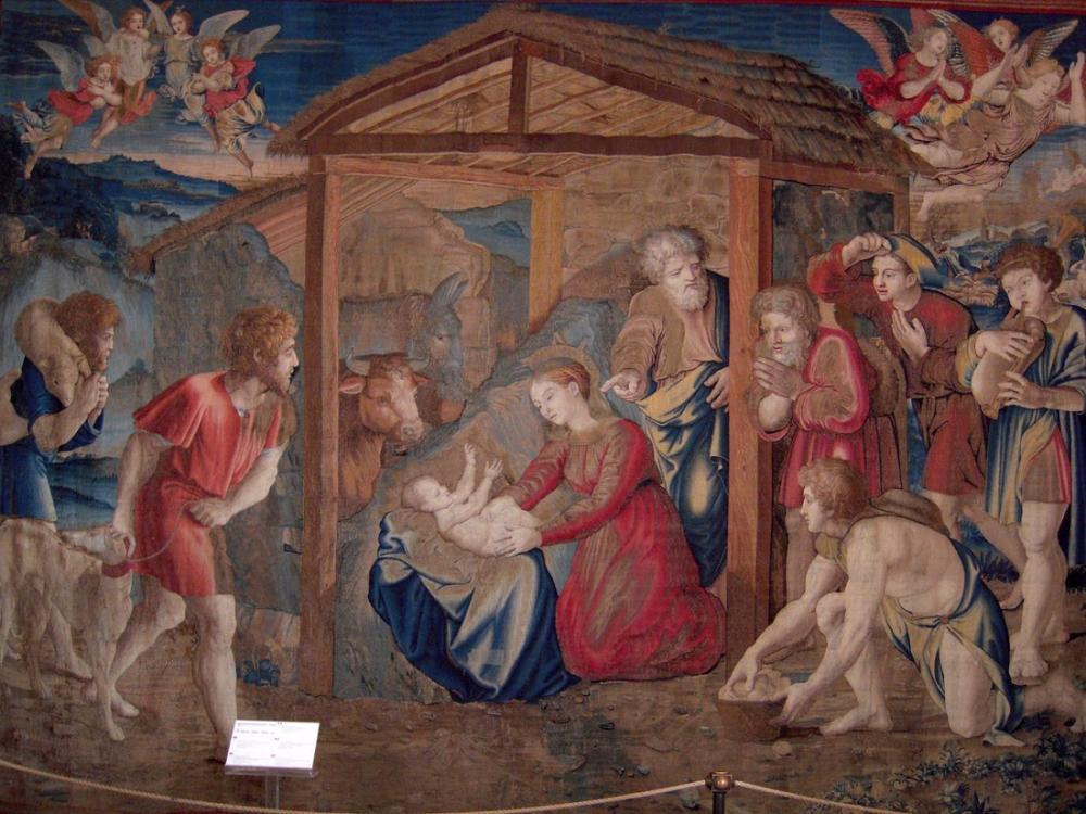 Raphael School Of Adoration Of The Shepherds, Canvas, Raphael, kanvas tablo, canvas print sales
