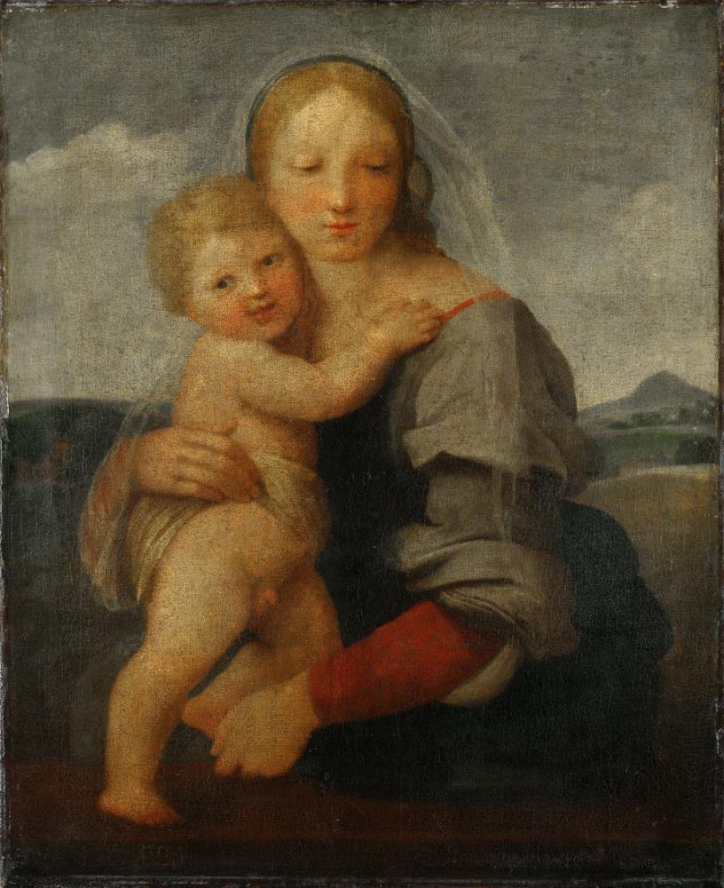 Raphael Mackintosh Madonna, Kanvas Tablo, Raphael, kanvas tablo, canvas print sales